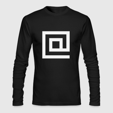 At Squared - Men's Long Sleeve T-Shirt by Next Level