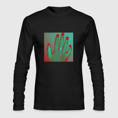 The Right Hand - Men's Long Sleeve T-Shirt by Next Level