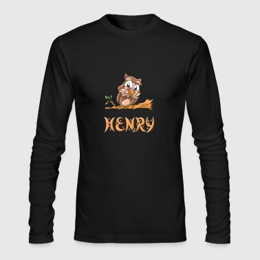 Henry Owl - Men's Long Sleeve T-Shirt by Next Level