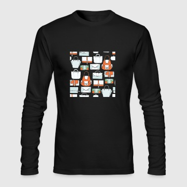 handbag purse - Men's Long Sleeve T-Shirt by Next Level