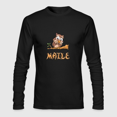 Maile Owl - Men's Long Sleeve T-Shirt by Next Level