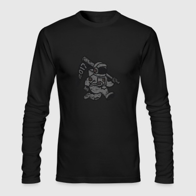 astronaut nasa - Men's Long Sleeve T-Shirt by Next Level