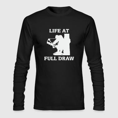 Life at full draw bowfishing - Men's Long Sleeve T-Shirt by Next Level