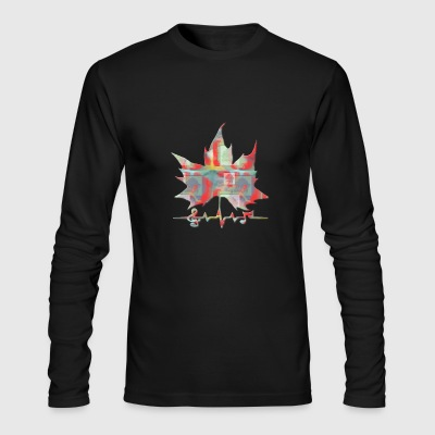 Happy Holidays - Men's Long Sleeve T-Shirt by Next Level