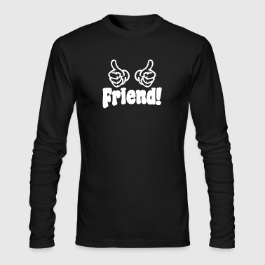 Inbetweeners Friend - Men's Long Sleeve T-Shirt by Next Level