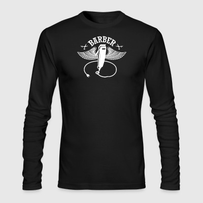 Gift For Barber - Men's Long Sleeve T-Shirt by Next Level