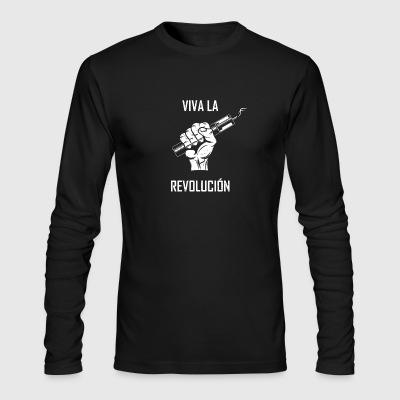 Vape Revolucion - Men's Long Sleeve T-Shirt by Next Level