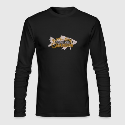 Reel Cool Grandpa - Men's Long Sleeve T-Shirt by Next Level