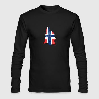 Proud Norway Viking - Men's Long Sleeve T-Shirt by Next Level