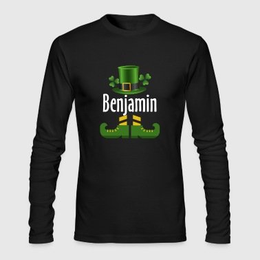 Benjamin - Men's Long Sleeve T-Shirt by Next Level