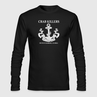 Northwestern Crab - Men's Long Sleeve T-Shirt by Next Level