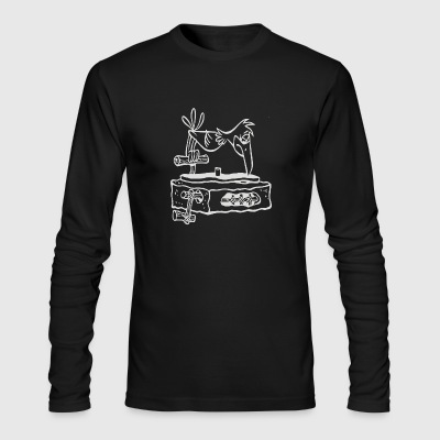 Dj MUsic - Men's Long Sleeve T-Shirt by Next Level
