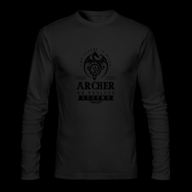 ARCHER - Men's Long Sleeve T-Shirt by Next Level