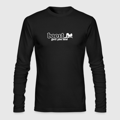 boost gets you laid - Men's Long Sleeve T-Shirt by Next Level