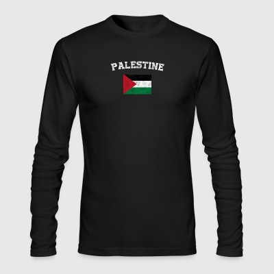 Palestinian Flag Shirt - Vintage Palestine T-Shirt - Men's Long Sleeve T-Shirt by Next Level