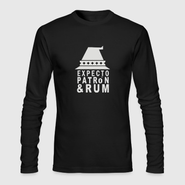 Expecto Patron Rum - Men's Long Sleeve T-Shirt by Next Level