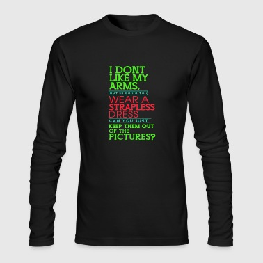 Keep Them Out Of The Pictures Best Trending - Men's Long Sleeve T-Shirt by Next Level