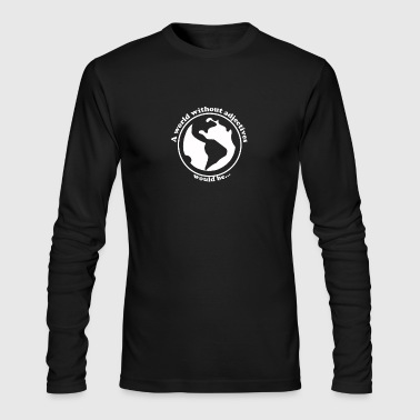 New Design A world without adjectives Best Seller - Men's Long Sleeve T-Shirt by Next Level