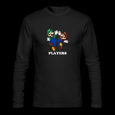 Promo A158 Super Mario & Luigi TillieMCallaway - Men's Long Sleeve T-Shirt by Next Level