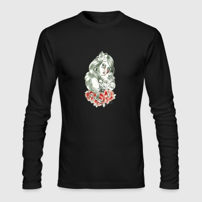 Kiss of Love - Men's Long Sleeve T-Shirt by Next Level