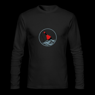 fishing float - Men's Long Sleeve T-Shirt by Next Level