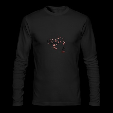 cherry blossom - Men's Long Sleeve T-Shirt by Next Level