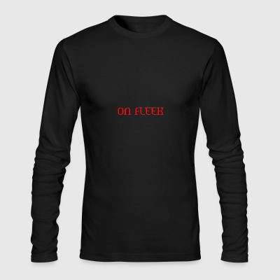 ON FLEEK - Men's Long Sleeve T-Shirt by Next Level