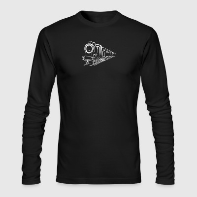 Train - Men's Long Sleeve T-Shirt by Next Level