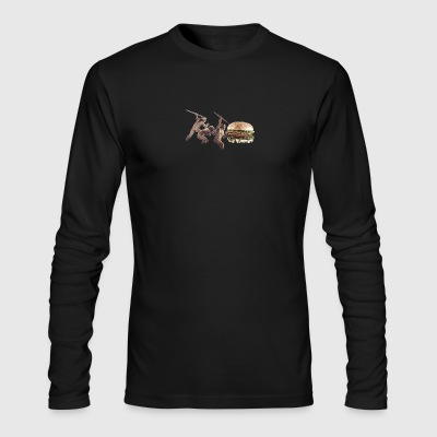 Burger Hunters - Men's Long Sleeve T-Shirt by Next Level