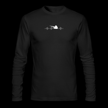 Heartbeat to be soldiers - Men's Long Sleeve T-Shirt by Next Level