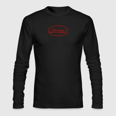 MERLOTTES BAR AND GRILL - Men's Long Sleeve T-Shirt by Next Level