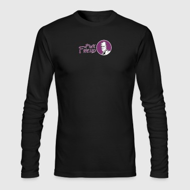 Pink Freud - Men's Long Sleeve T-Shirt by Next Level