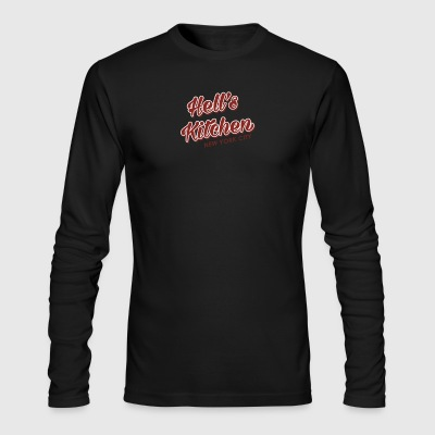 Hell s Kitchen - Men's Long Sleeve T-Shirt by Next Level