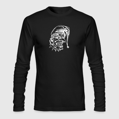 EVIL_CLOWN_49_white - Men's Long Sleeve T-Shirt by Next Level