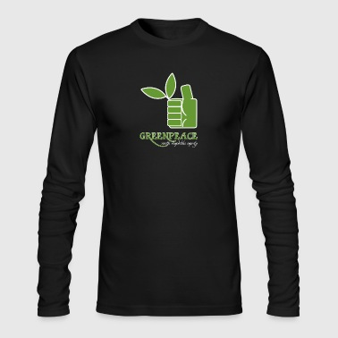 Greenpeace 100 renewable energy - Men's Long Sleeve T-Shirt by Next Level