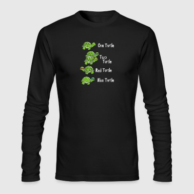 One Turtle Two Turtle - Men's Long Sleeve T-Shirt by Next Level