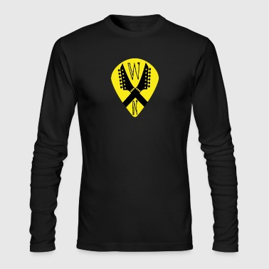 Noise Yellow Pick - Men's Long Sleeve T-Shirt by Next Level