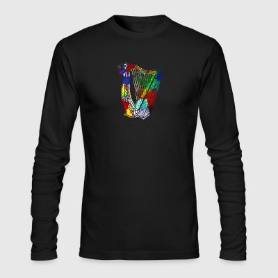 Funny Harp Shirt - Men's Long Sleeve T-Shirt by Next Level