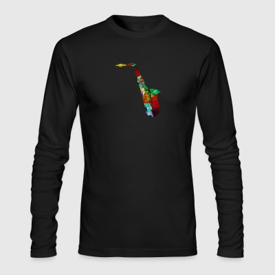 Funny Saxophone Shirts - Men's Long Sleeve T-Shirt by Next Level