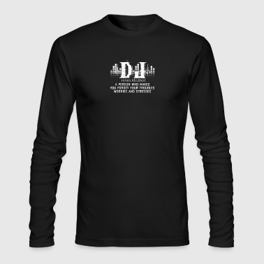Awesome DJ Shirt - Men's Long Sleeve T-Shirt by Next Level