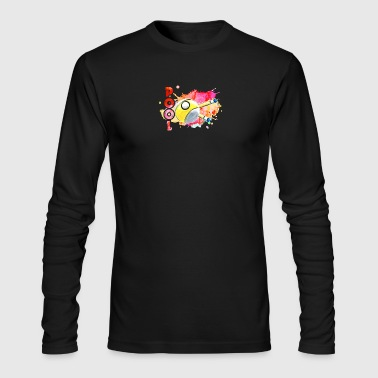 POOL PLAYER TEE SHIRT - Men's Long Sleeve T-Shirt by Next Level