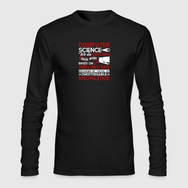 Computer Science Shirt - Men's Long Sleeve T-Shirt by Next Level