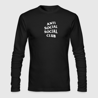 Anti Social Club - Men's Long Sleeve T-Shirt by Next Level