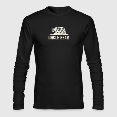 Uncle bear - Men's Long Sleeve T-Shirt by Next Level