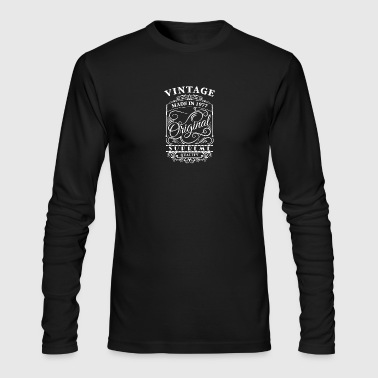 vintage made in 1977 - Men's Long Sleeve T-Shirt by Next Level