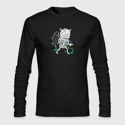 Preparing For The Goblin Fire - Men's Long Sleeve T-Shirt by Next Level