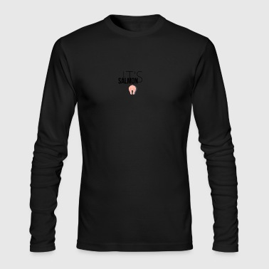 It's Salmon - Men's Long Sleeve T-Shirt by Next Level