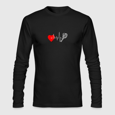 I love Tennis - Men's Long Sleeve T-Shirt by Next Level