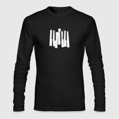 Keyboard - Men's Long Sleeve T-Shirt by Next Level