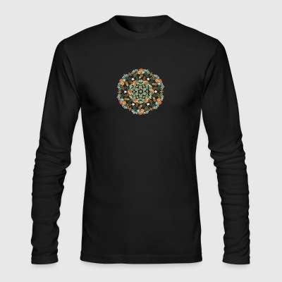 Flower mandala - Men's Long Sleeve T-Shirt by Next Level
